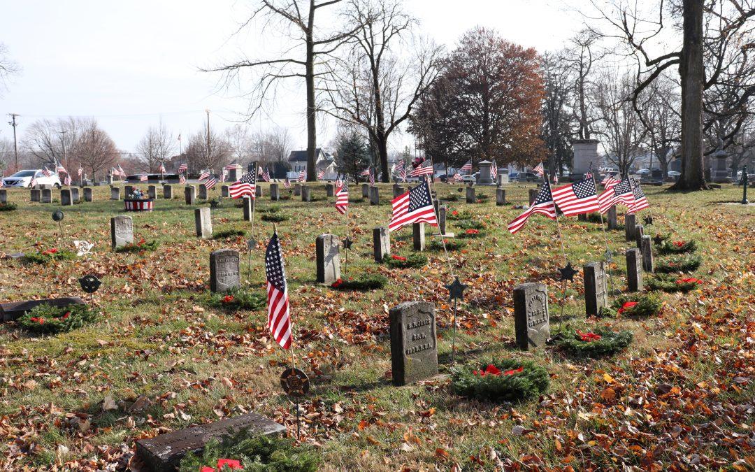 Wreaths across America in Piqua, Ohio 2019
